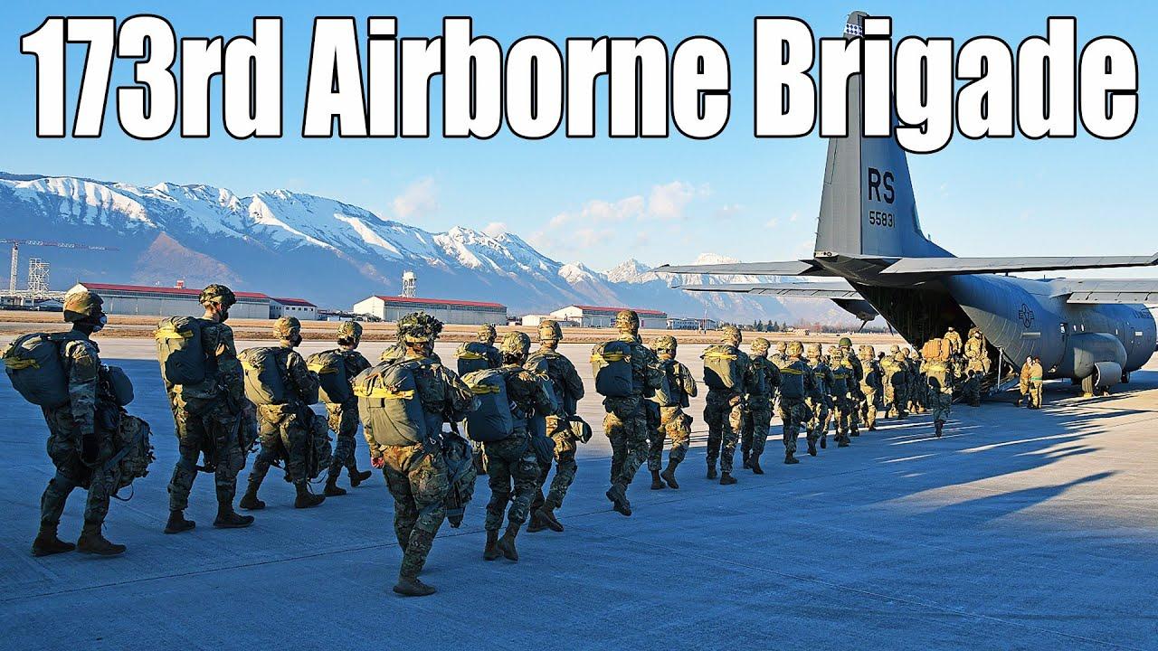 3000+ Elite Paratroopers Unit | U.S. Army 173rd Airborne Brigade