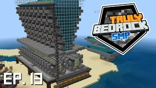 Truly Bedrock s0 e13 Super mega kelp farm with Slacklizard