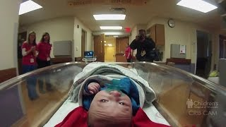 Watch baby John move into new NICU at Children's Hospital of Wisconsin