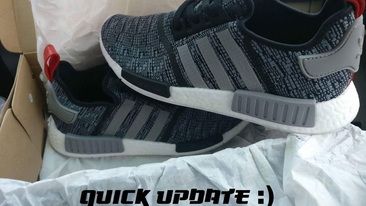 fad1264b7fa9e Quick Update - Cleaning Adidas NMD R1 Glitch - YouTube