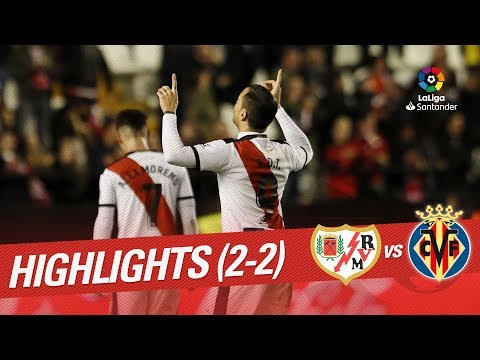 Resumen de Rayo Vallecano vs Villarreal CF (2-2) thumbnail