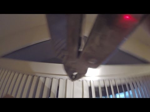 Changing Cord Plus Chain Vertical Blinds To Wand Control Video