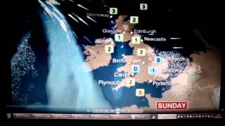 Haarp attack? BBC weather man talsk of a sudden stratospheric heating in one spot.