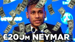 NEYMAR COMPLETES WORLD RECORD MOVE TO PSG! thumbnail