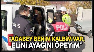 Polisten Kaçan Sürücü Yakalanınca \Onlar Bizim Büyüğümüz Atamız\