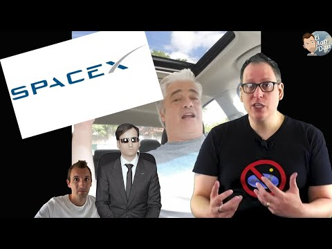 Flat Earthers FREAK OUT Over SpaceX Launch!