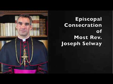 Consecration of Bp. Selway: Photos