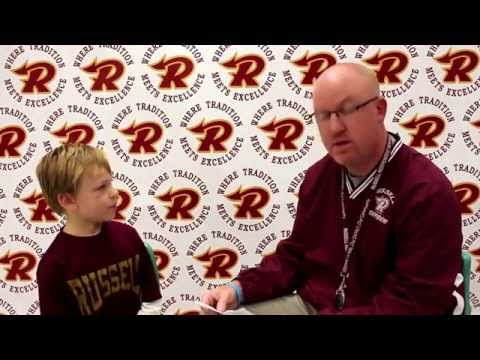 Russell Primary School Student of the Month Interviews - 1st Semester 2014