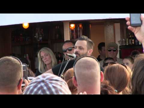 Justin Furstenfeld of Blue October  Hate Me Rock & Blues Concert Series