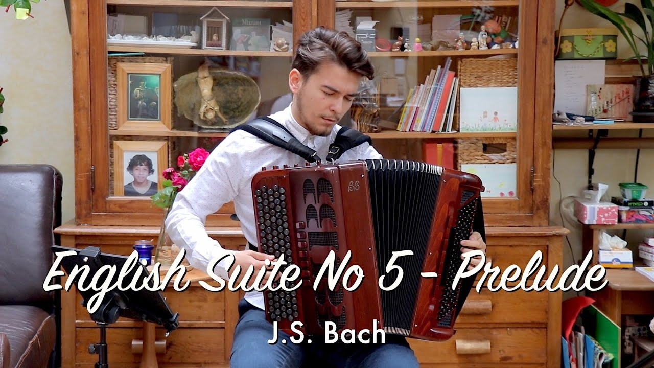 English Suite No 5 BWV 810 in Em - Prelude