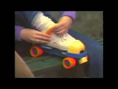Fischer Price Roller Skates Commercial