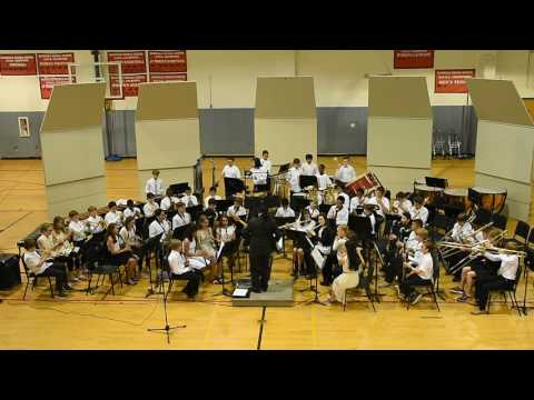 """McDougle Middle School 6th Grade Band Performs """"Sakura"""" by Mike Story"""