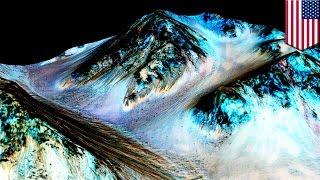 Учёные NASA нашли воду на Марсе