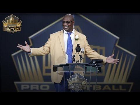 Charles Haley's 2015 Pro Football Hall of Fame speech