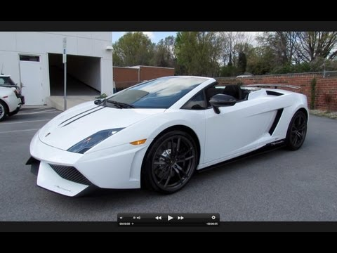 2012 Lamborghini Gallardo Spyder Performante Start Up, Exhaust, and In Depth Review