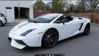 Lamborghini Gallardo LP 550 2 Spyder 2012 Videos
