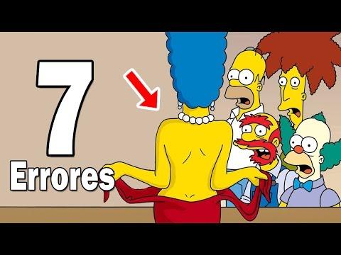 7 Errores de Los Simpson que Nunca Habías Notado