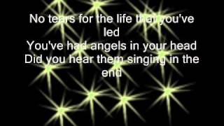 No tears - James Blunt - [LYRICS ON SCREEN]