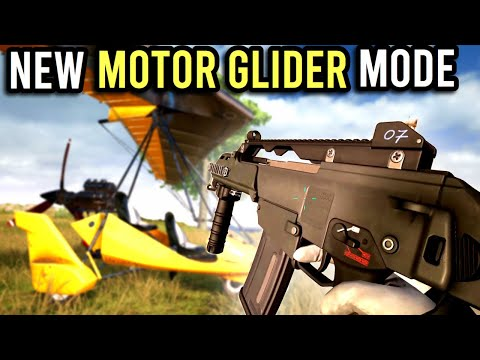 *NEW PUBG Motor Glider Gameplay! All Glider Locations and Features