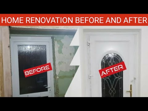 Home renovation done by myself. 2019.