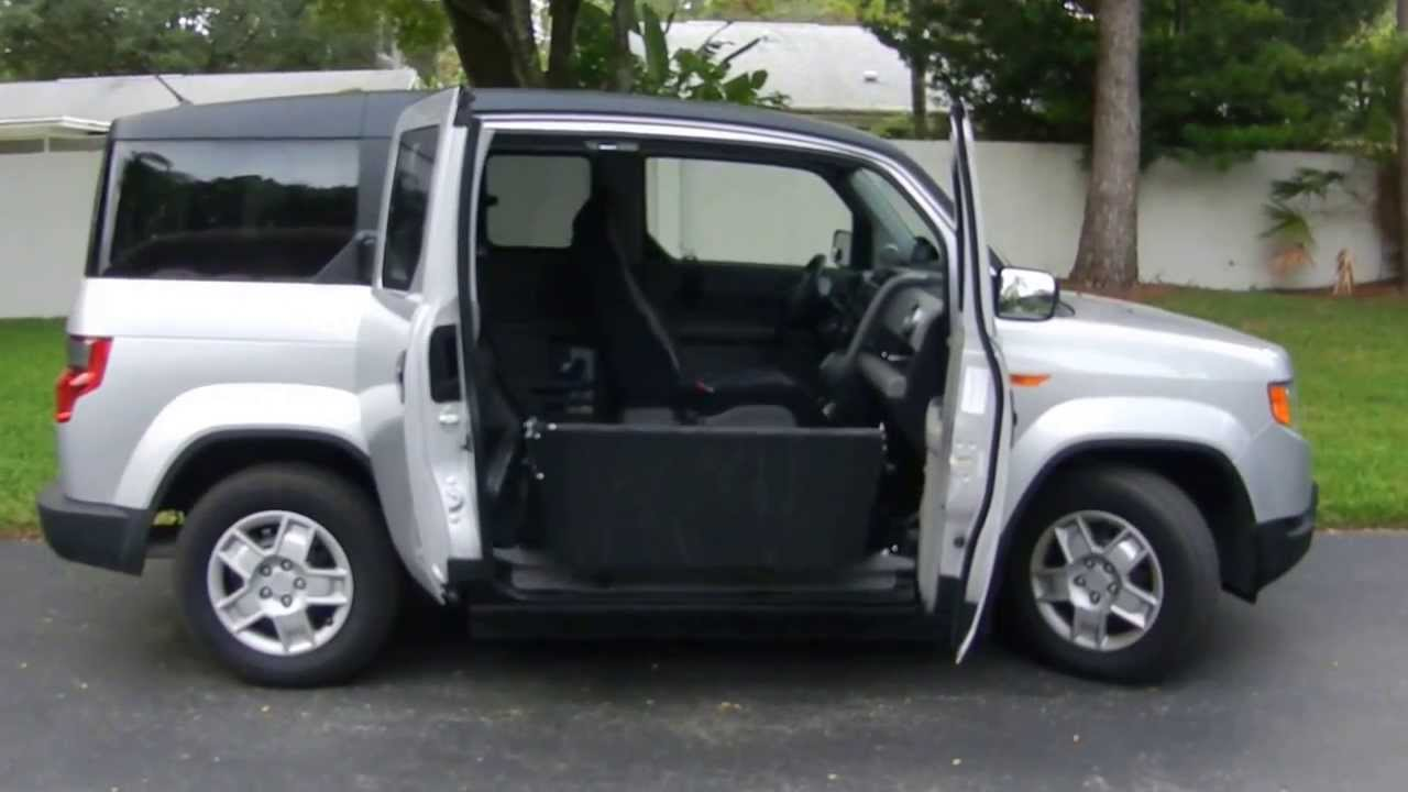 Honda Element X Wav Wheelchair Accessible Opening