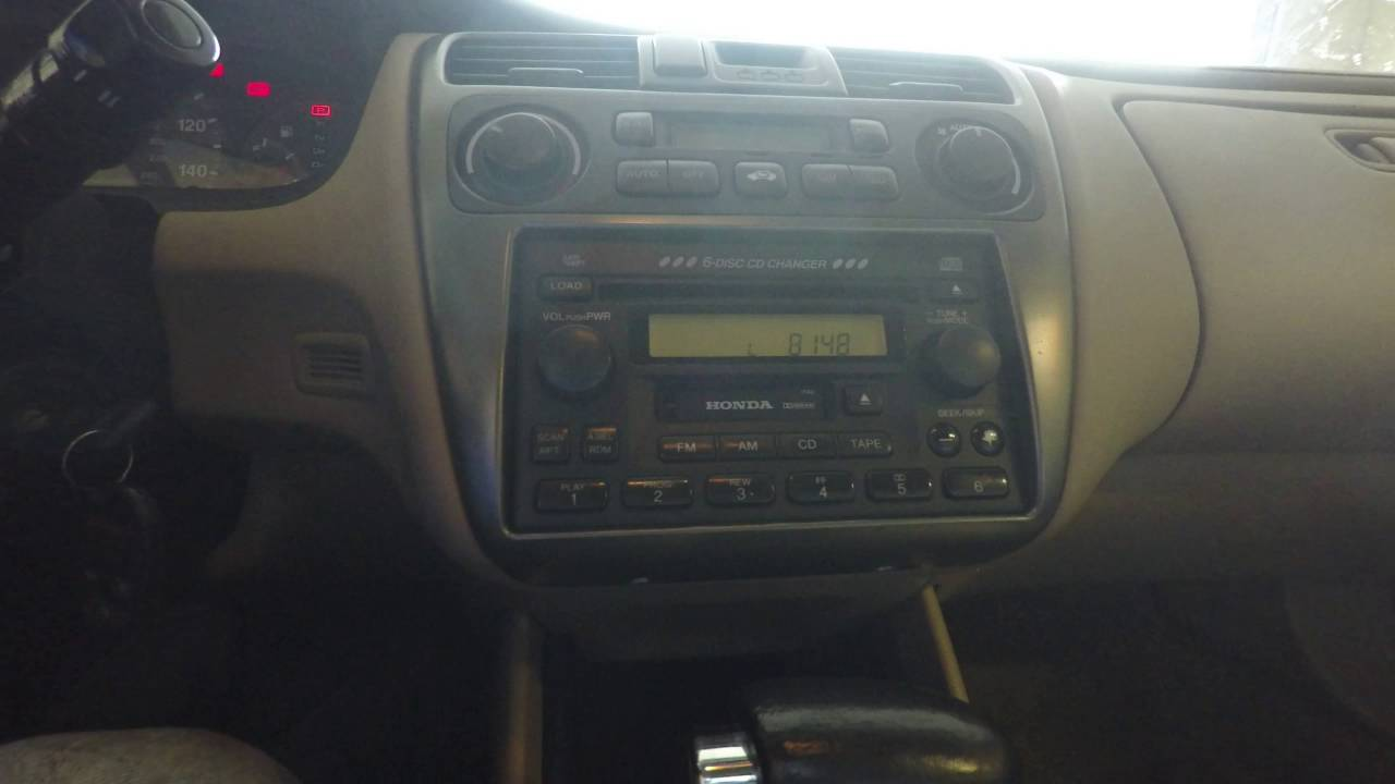 Radio Navicode Honda Com >> How To Unlock Radio On Honda 2001 And Later Instructions Youtube