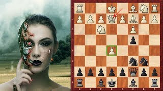 Amazing Game: Houdini (Chess Engine) Immortal Game! vs Rybka - 2011 match, Game 1 - Sicilian Defence