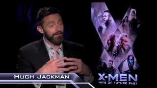 Hugh Jackman Talks Halle Berry, Playing Wolverine, & 80's Music!