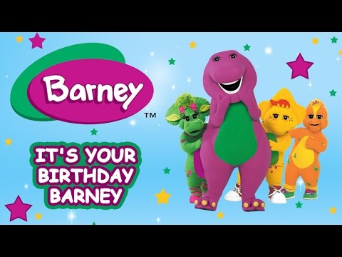 barney birthday Barney Full Episode: It's your Birthday Barney   YouTube barney birthday
