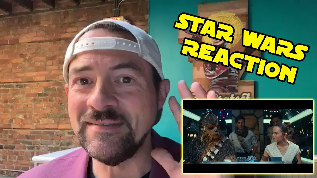 Kevin Smith Reacts to the Star Wars: The Rise of Skywalker Final Trailer