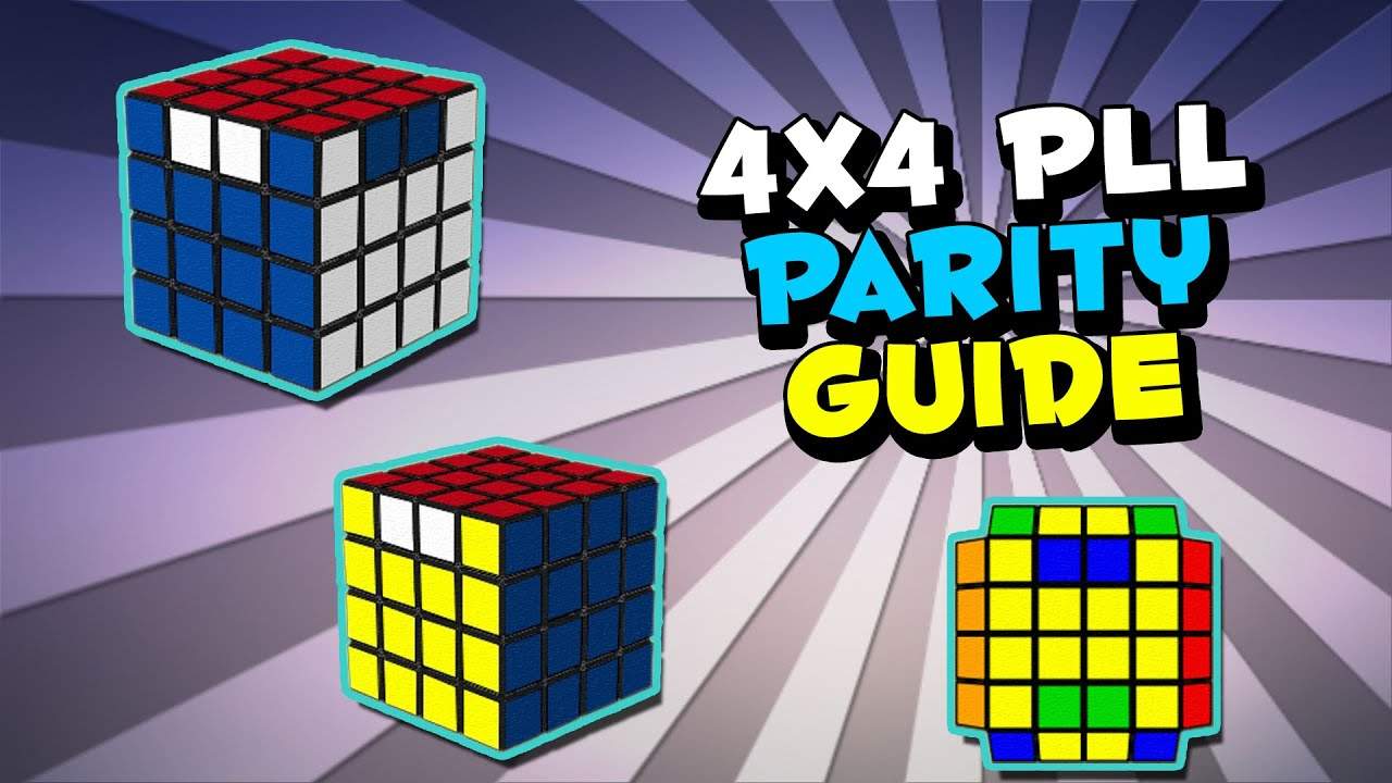 Ultimate 4x4 Parity Guide by CrazyBadCuber