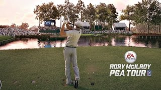 Rory McIlroy PGA Tour - TPC Sawgrass Back 9 @ The Players Championship (Xbox One Gameplay)