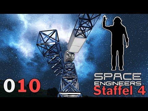 SPACE ENGINEERS [S4|010] Solar Turm 🌌 Let's Play Space Engineers German