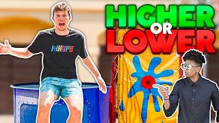 2HYPE 'Higher or Lower' ICE BATH Dunk Tank Tournament!