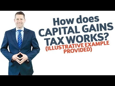04 How Does Capital Gains Tax Work? (illustrative Example Provided)