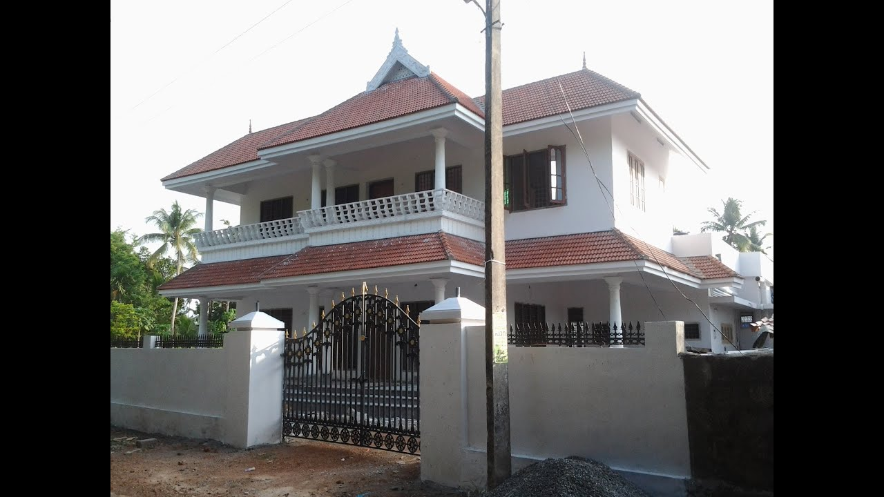 Kerala House Gate Compound Pictures