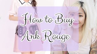 ♡ HOW TO BUY ANK ROUGE OVERSEAS | Mini Haul + How I Buy Ank Rouge | xsakisaki ♡