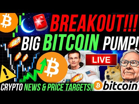 EMERGENCY!!!🚨 HUGE BITCOIN PRICE MOVE HAPPENING RIGHT NOW!!!! ETHEREUM TO $2,000!?!?!? BITCOIN NEWS!