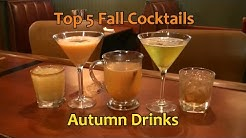 Top 5 Thanksgiving Cocktails Best Fall Autumn Drinks