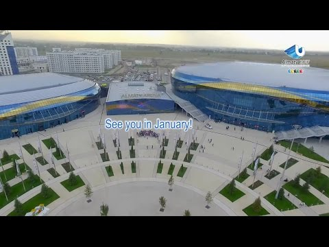 Almaty Arena - 28th Winter Universiade, Almaty, Kazakhstan