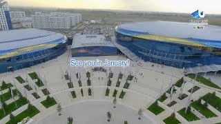 Almaty Arena - 28th Winter Universiade, Almaty, Kazakhstan