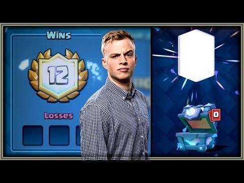 Clash Royale -12-0 CHALLENGE DECK! Free Legendary Chest