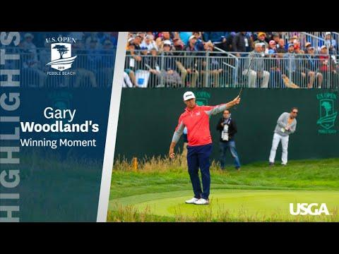 2019 U.S. Open: Gary Woodland's Winning Moment