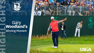2019 U.S. Open: Gary Woodland's Winning Moment