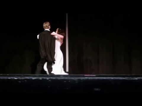 Forest Csuy and Amanda Ward Tango  Phantom of the Opera