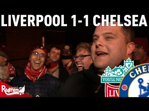 Liverpool v Chelsea 1-1 | #LFC Free For All Fan Cam
