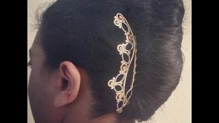 Simplistic Designs Hair Comb + French Twist for LONG hair!!! | Lucy