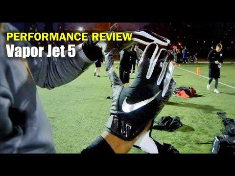NIKE Vapor Jet 5 Football Gloves: Performance Review
