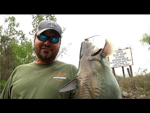 Downtown Catfishin, Baton Rouge Louisiana - Sportsman TV - Full Episode