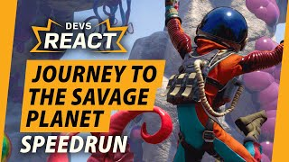 Developers React to Journey to the Savage Planet Speedruns